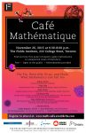 Cafe Mathematique explores the math of epidemics